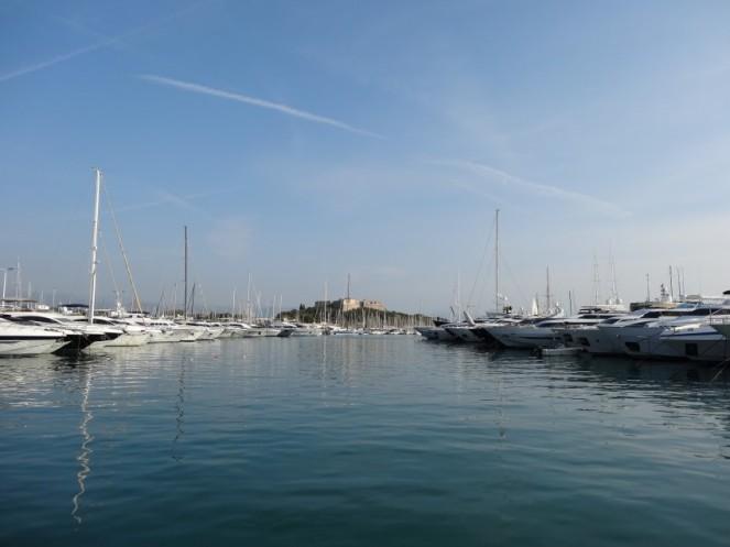 Hafen von Antibes