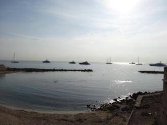 Strandabschnitt Antibes