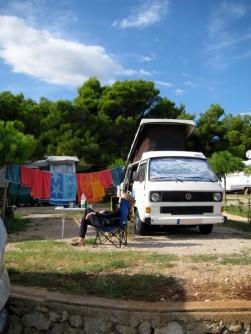 Campingplatz Cres Kroatien