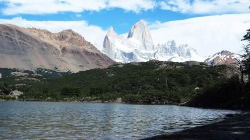 Lagune mit Fitzroy im Hintergrund