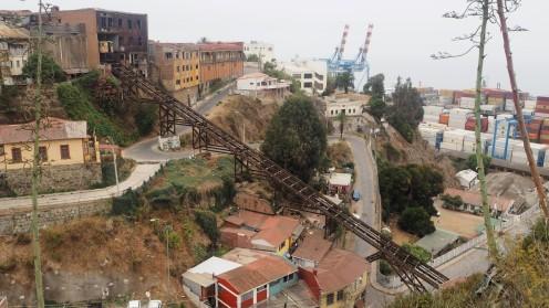 Seilbahn in Valparaiso