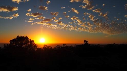 Sonnenuntergang in Tunquen
