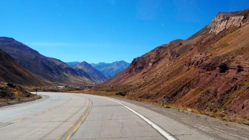 auf dem Weg nach Mendoza