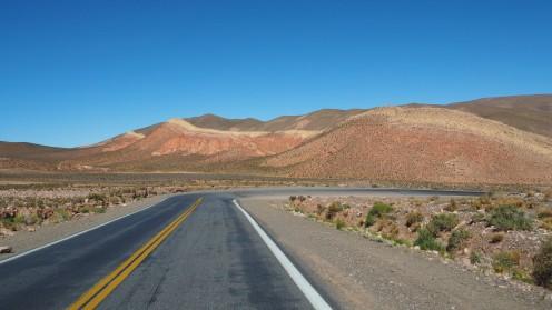 Passstraße nach Chile