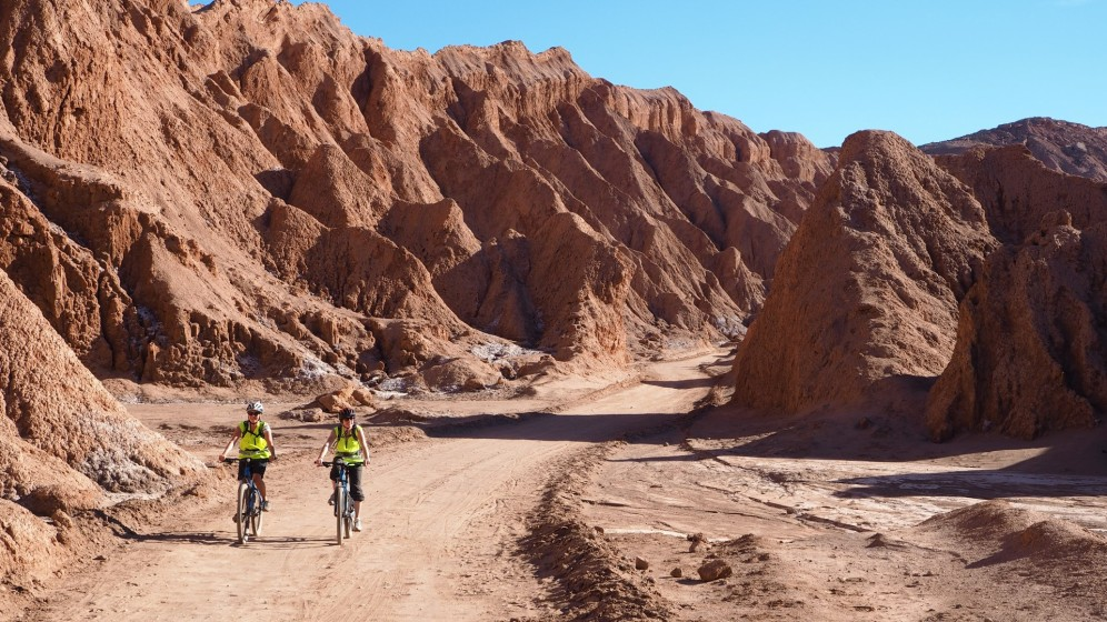 Auf dem Rad durchs Valle de la Muerte