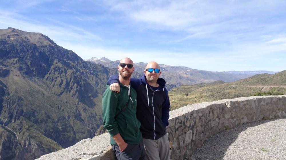 Dos Amigos im Colca Canyon