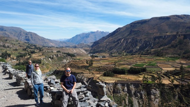 Tres Amigos am Colca Canyon