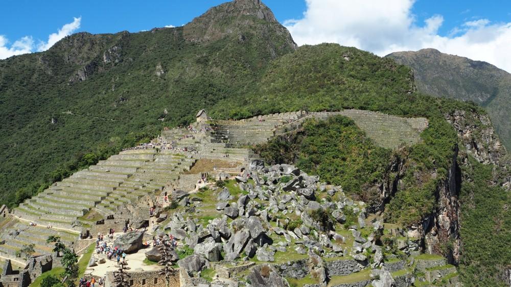 Steinbruch von Machu Picchu