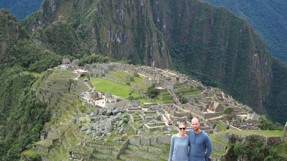 Luftiges Machu Picchu