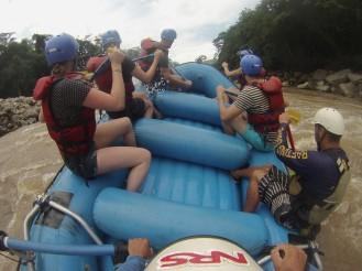 Rafting in San Gil