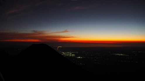 Cerro Verde bei Nacht