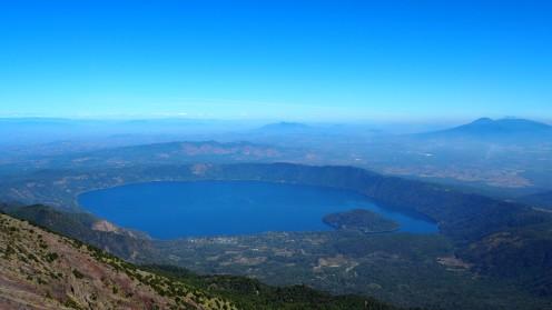 Blick über El Salvador