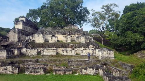Alone in Tikal