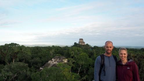 bei den Mayas in Tikal
