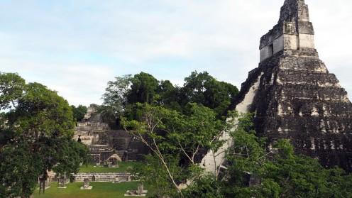 Hauptplatz Tikal