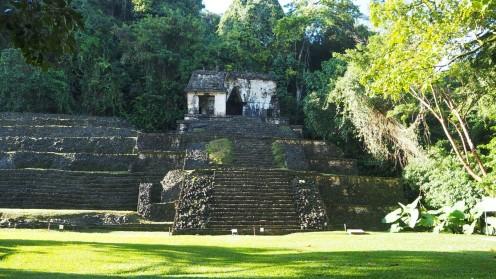 Bei den Mayas in Palanque