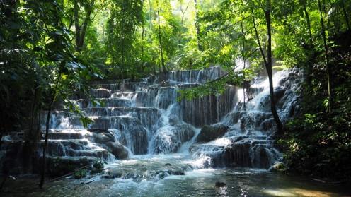 Wasserfall bei Palenque