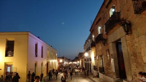 Fußgängerzone Oaxaca