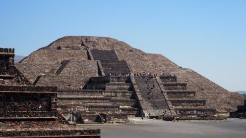Mondpyramide Teotihuacan