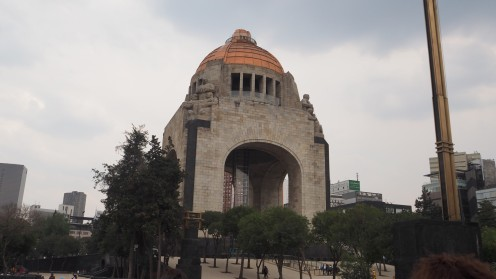 Unterwegs in Mexico City