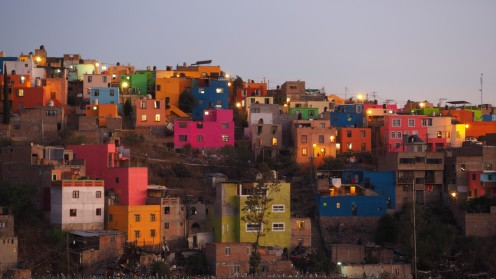 Guanajato bei Nacht