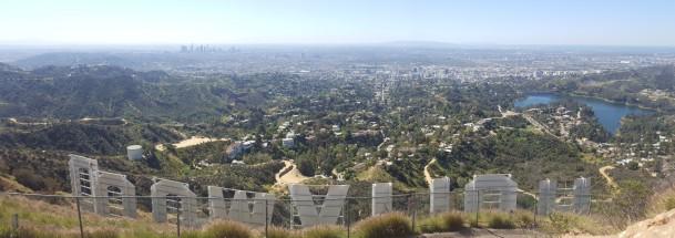 Hollywood von oben