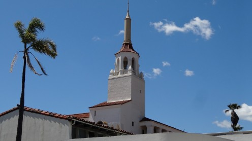 Kirchturm in Santa Barbara