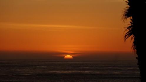 Sonnenuntergang am Jalama Beach