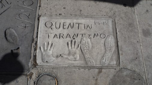 Tarantino am Chinese Theatre
