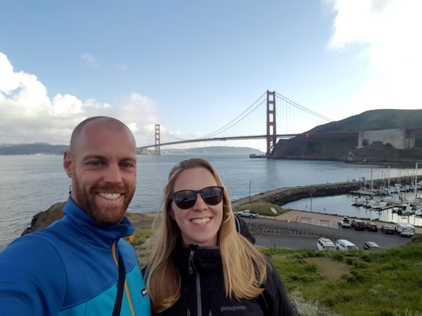 Golden Gate Bridge Selfie
