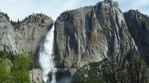 Upper Fall Yosemite Park