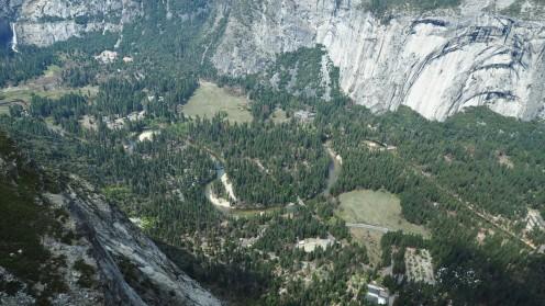 Talblick Yosemite