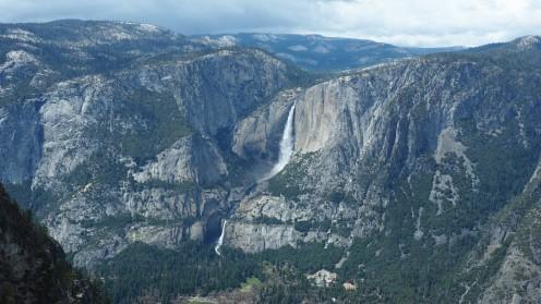 am Glacier Point im Yosemite