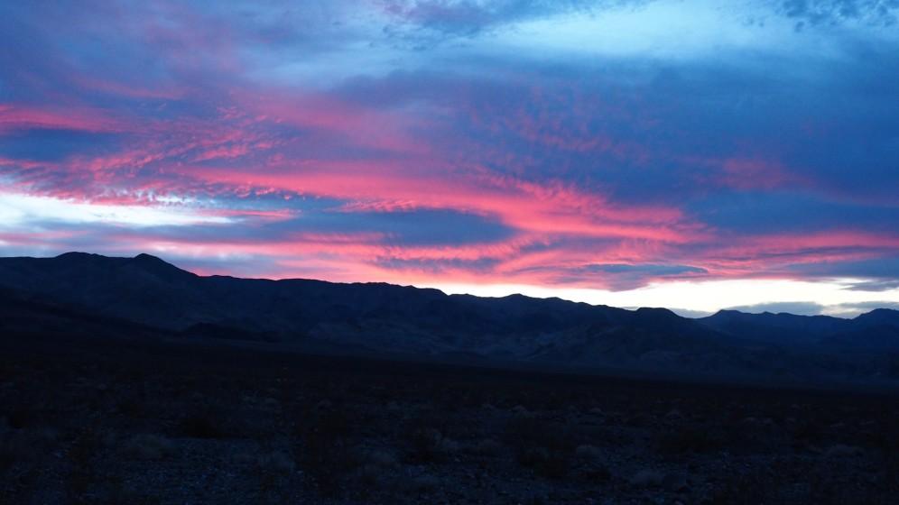Sundowner @Death Valley