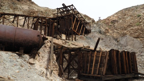 Keane Wonder Mine Death Valley