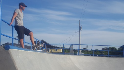 Im Skatepark auf den Outer Banks