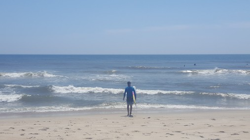 Surfing Outer Banks