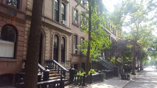 eine Straße in Greenwich Village