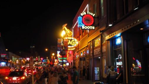 Partystraße in Nashville