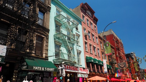 auf der Mulberry Street in Little Italy