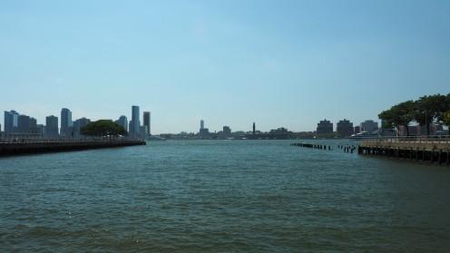 Entlang des Hudson Rivers