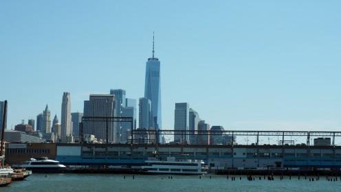 Hudson River mit Skyline