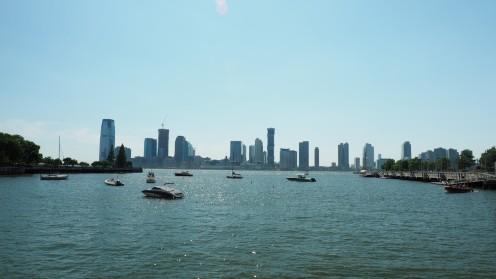New Jersey und der Hudson River