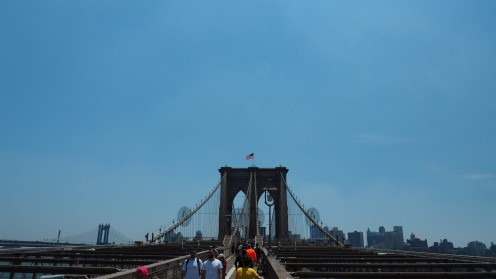 Über dem East River