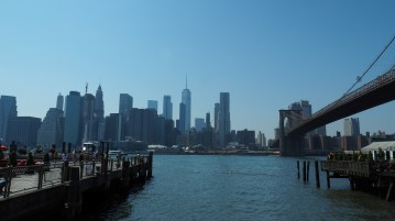 Brookyln Bridge & Manhattan