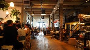 Hipster Café in Williamsburg