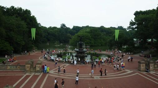 Springbrunnen im Central Park